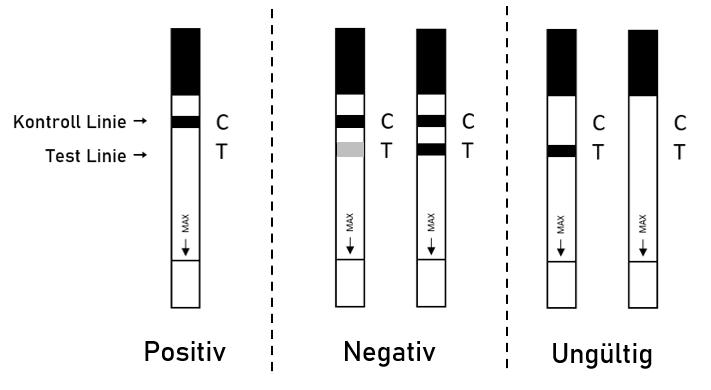 Ergebnisinterpretation Drogentests