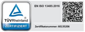 Zertifikat TÜV Rheinland Lepu Medical